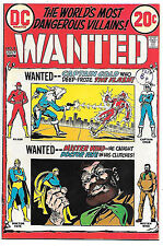 Wanted #8 (DC 1973, vf- 7.5) Flash & Dr Fate. Guide value $12.50 (£10.00)