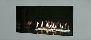 Senso Fireplaces Frameless Gas Fire HE Full Remote Control 3.6Kw