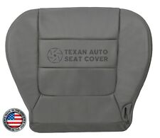 2003 Ford F-150 Lariat Super Cab Driver Bottom Synthetic Leather Seat Cover Gray