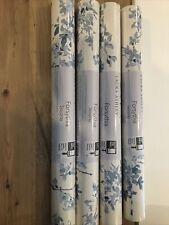 laura ashley wallpaper 4 rolls Forsythia Seaspray