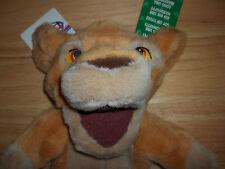 "The Disney Store- -- Lion King Kiara 10"" Hand Puppet"