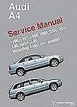 Audi A4 (b5) Service Manual: 1996, 1997, 1998, 1999, 2000, 2001: By Bentley P...