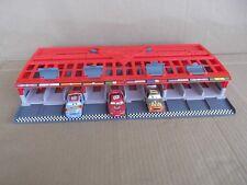 DISNEY PIXAR CARS 2 Grand Prix Race Car Launcher Storage Travel Case Boys Toys