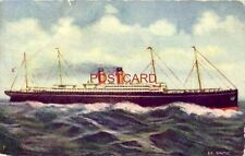 """Steamship """"Baltic"""" the principal vessel of the White Star fleet, launched 1903"""