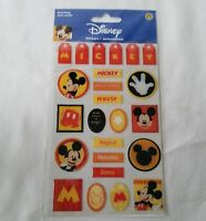 Disney Mickey Mouse Stickers SandyLion Acid Free Tags