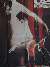 U2 Rattle And Hum Poster Original 1988 Movie Poster – Spanish Version