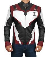Iron Man Robert Downey Jr. Avengers Endgame Quantum Leather Jacket