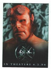 Hellboy Premium Trading Cards Promo Card P-UK Inkworks 2004 Good Condition