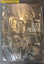 """Ready! Hot Toys MMS325 Alien VS. Predator AVP 1/6 Elder Predator 14"""" Figure"""