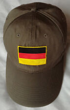 NEUF! Casquette ALLEMAGNE Deutschland Germany Taille réglable Army Style