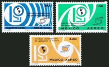 Mexico 1978 MNH 3v, 50th Anni. of Pan-American Institute of Geography & History