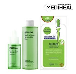 Mediheal Tea Tree Biome Blemish Cica Toner 320ml Ampoule 50ml Masks 10pcs Set
