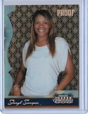 2007 DONRUSS AMERICANA SHERYL SWOOPES HOBBY PROOF CARD #74 ~ /250 OLYMPICS WNBA