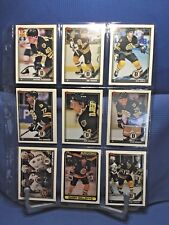 Boston Bruins 24 Card Lot Topps 1990-91 Excellent Condition