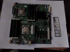 Intel S5520HC  S5520HCR  LGA 1366, EATX  with 2xXeon E5620, 12gb  and i/o shield
