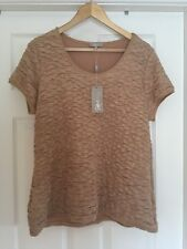 South Beige Summer Top Size 20 New With Tags