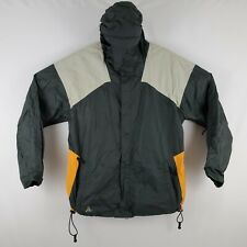 Burton Hooded Snowboard Ski Jacket Mens Large Nylon Full Zip All Access