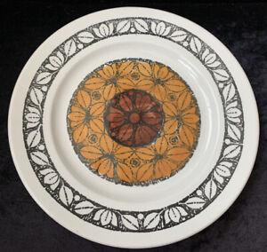 """Retro Broadhurst 24cm Dinner Plate """"Tashkent"""" by Kathie Winkle"""