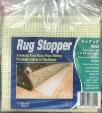"RUG STOPPER CARPET MAT NON SLIP ANTI SKID SAFETY SOFT TOUCH 18.25"" X 29.87"" DIY"