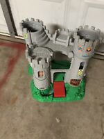 Fisher Price Great Adventures Castle Toy Jousting 1994 Little People Mint. Used