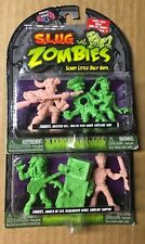 S.L.U.G. ZOMBIES series 4 slug NEW 2 3 packs (muscle men) 6 figures