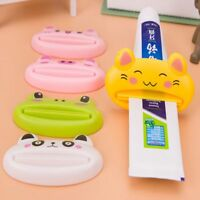 Cartoon Toothpaste Dispenser Bathroom Home Tube Rolling Holder Squeezer