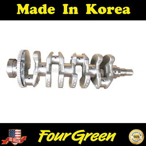 Crankshaft for Hyundai 01-12 Elantra 2.0L