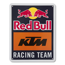 More details for official red bull ktm racing motogp mx team metal sign logo size is 165x210x3mm
