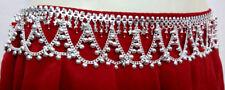 Kuchi Tribal Chain Sil Belt Belly Dance Hip Skirt Scarf Boho Jewelry Turkish ATS
