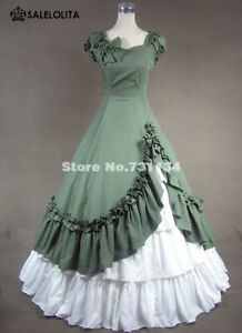 Victorian Southern Belle Wild West Saloon Girl Dress Reenactment Ball Gown XXL