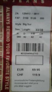 """MUSTANG Herren Jeans """"BIG SUR"""" 33/38"""