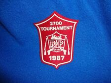 Vintage 1987 Mac Club Tournament Patch