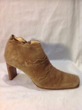 Barratts Brown Ankle Suede Boots Size 5