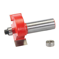 "12mm Rebate Cutter For Door, Window Frame Manufacturing Router Bit 1 3/8"" x 1/2"""