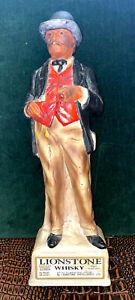Lionestone Whisky Gentleman Gambler Statue