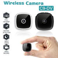C9-DV HD 1080P Night Vision Mini Hidden Security Camcorder Wireless Camera