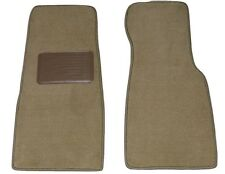 1992 - 1996 Jaguar XJS Beige Tan Car Floor Mats * 2 PIECE FRONTS w/ DS Heel Pad