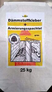 Armierungskleber 25 Kg GRAU Klebem/örtel Armierungsm/örtel KAM M/örtel Kleber