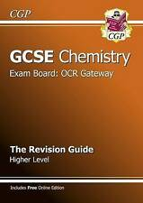 Gcse Chemistry Ocr Gateway Revision Guide (Revision Guides Edexcel Ocr-ExLibrary