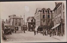 More details for postcard - nott square, carmarthen - real photo
