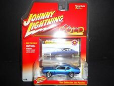Johnny Lightning Ford Maverick 1972 Blue JLCG001 A 1/64