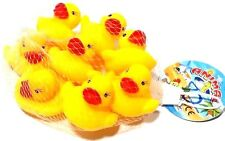 NEW SET OF 8 PCS COLLECTION RUBBER YELLOW DUCK  DUCKY DUCKIE CUTE BABY KID SHOWE