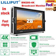 LILLIPUT BM280 4K Broadcast Monitor 3G SDI HDMI 3840*2160 28 inch Rack Mount LCD