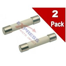 (2 Pack) Microwave Line Fuse 15 AMP, 250V Replaces WB27X7, AP2626454, PS240270