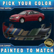 NEW Painted to Match - Front Bumper Cover For 2007 2008 2009 Nissan Altima Sedan
