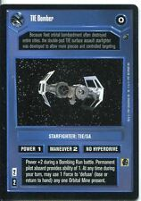 Star Wars CCG Dagobah Limited BB TIE Bomber