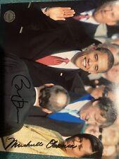 New ListingBarack Obama & Michelle Obama Signed Autographed 8x10 Photo President With Coa