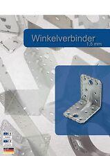Einzelverkauf von Winkelverbinder 90x90x65 mit Sicke Steg Rippe Winkel