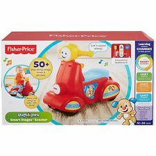 Fisher-Price Laugh & Learn Smart Stages Scooter Toddler Ride On Song Phrases New