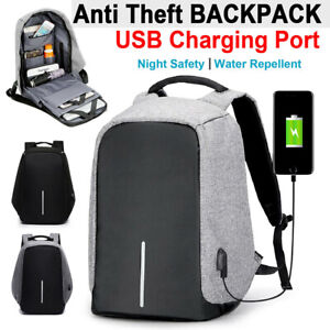 Luxury Multifunctional Backpack with USB Port Notebook Anti-theft Backpack New